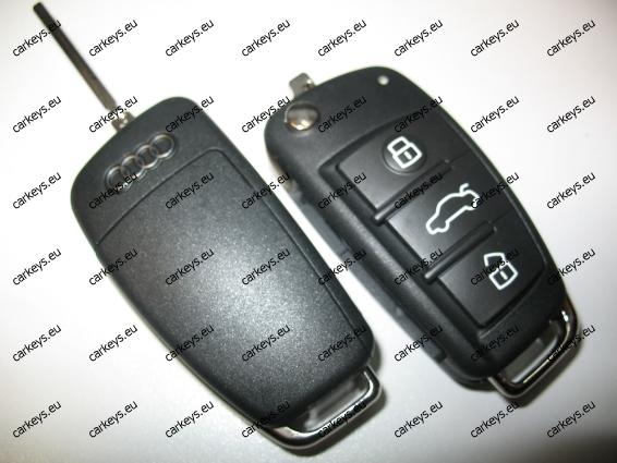 Auto Key Audi Vw Seat Skoda